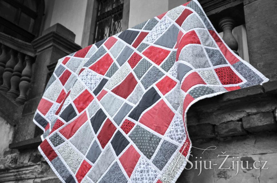 Patchwork deka - Magické dlaždice